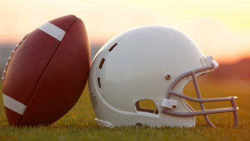 Pick the area's best football helmet.