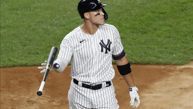 New York Yankees Aaron Judge has hit .290 with nine homers and 20 RBIs in 17 games.