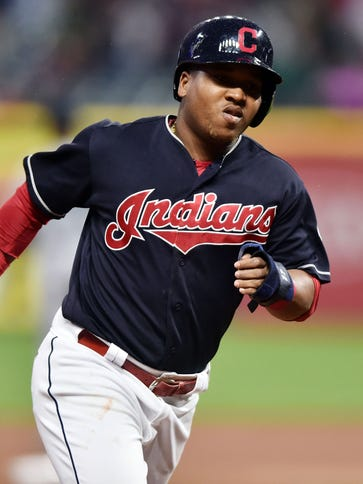 Jose Ramirez is hitting .321 with the Indians this