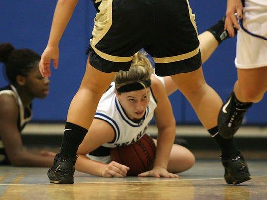Palmetto Ridge girls basketball coach Jamie Navarro, shown here during her senior season of 2006-07, played her final two high school years at Community School