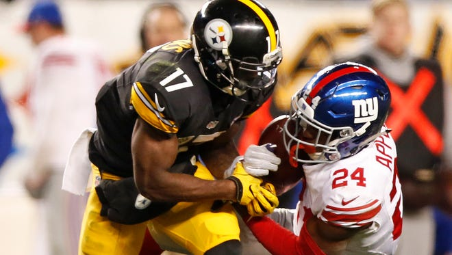 The Steelers beat the Giants 24-14 in Week 13.