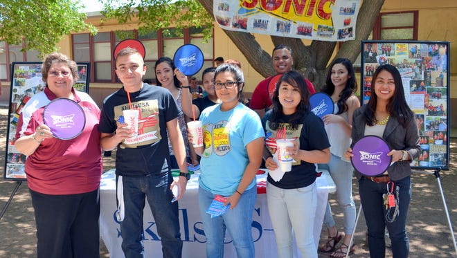 Students from the Deming High School SkillsUSA program will take over Sonic Drive In in Deming from 5-8 p.m. Wednesday for a fundraising event. Purchases made between the hours of 5-8 p.m. will benefit the program with a 10 percent gain of the sales. SkillsUSA is an award-winning program at DHS that focuses on vocational careers for students.