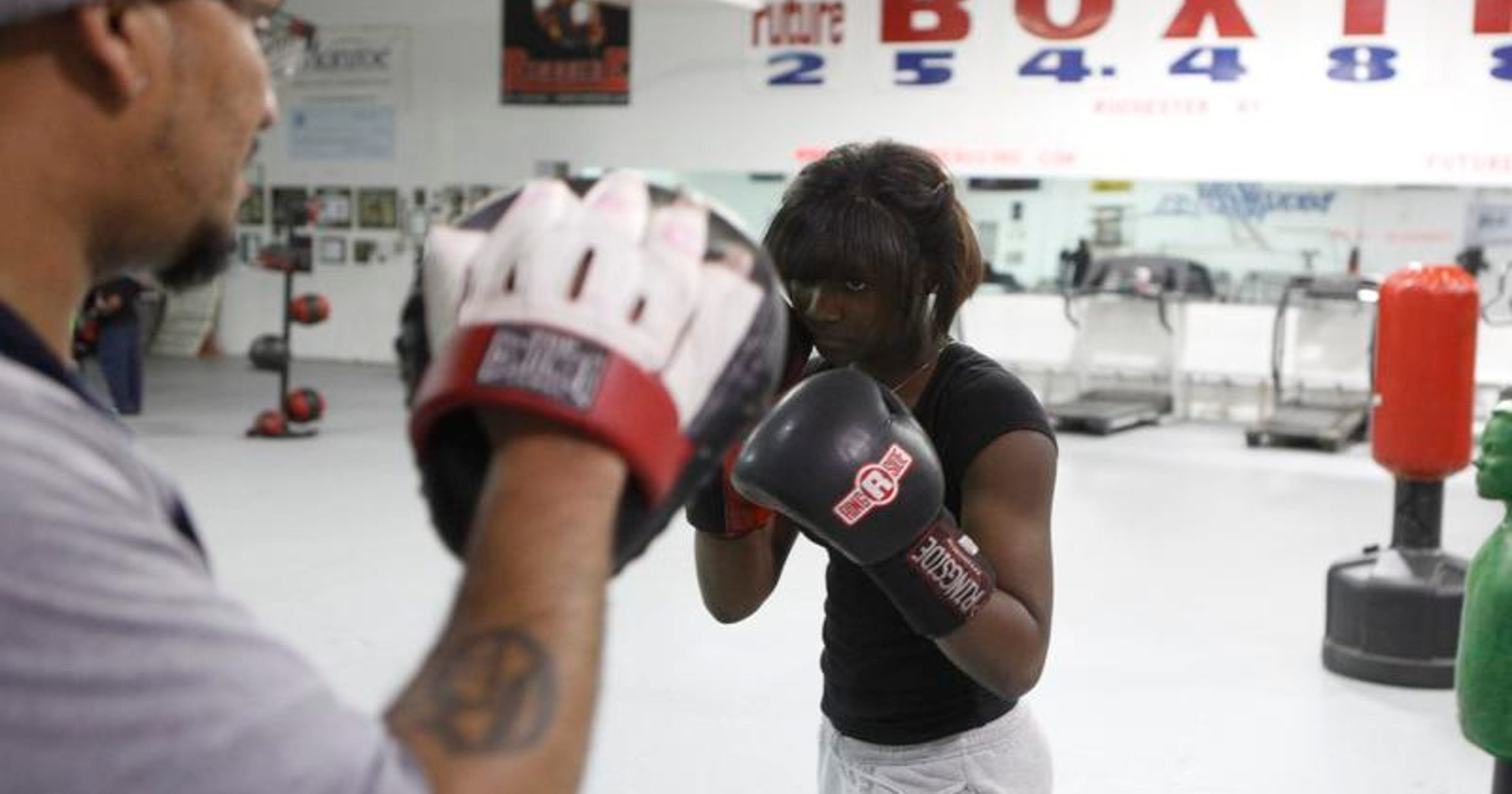 Kids Fight For Their Dreams At Future Boxing Club