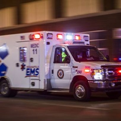 The most severely injured trauma patients may be transported