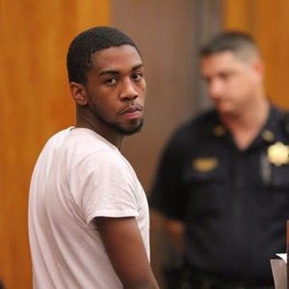 Jalen Everett in a pretrial hearing.