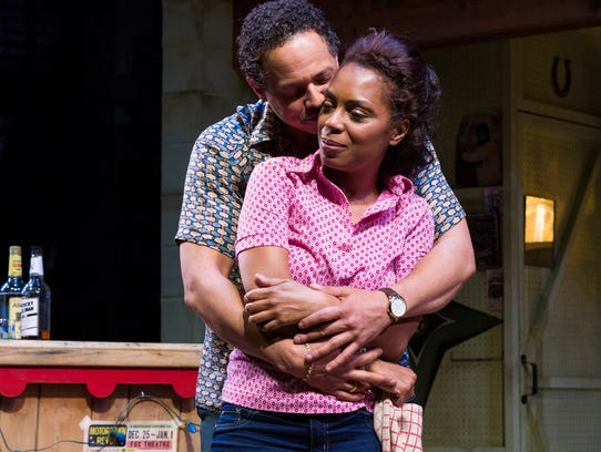 Brian Marable as Sly and Michelle Wilson as Chelle