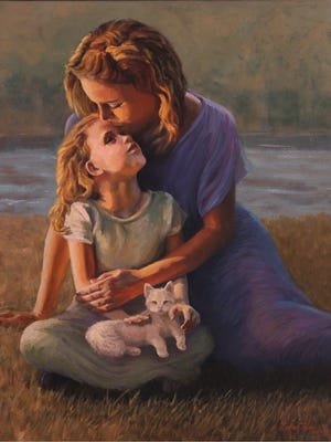 """""""Attachment"""" by Louise Thies"""
