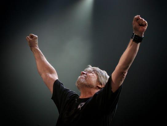 Michigan native Bob Seger performs at Van Andel Arena