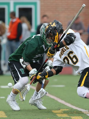 Yorktown defeated Lakeland/Panas 13-6 to win the Murphy Cup during their annual game at Lakeland High School in Shrub Oak May 7, 2016.