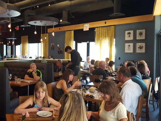 The family-run French kitchen Cuisine & Wine Bistro opened at The Promenade in Chandler and is owned by French-born Fabrice Buschtetz and his Irish wife, Mairead.