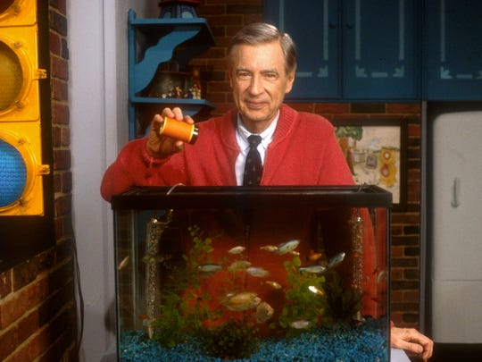 "Fred Rogers of ""Mr. Rogers' Neighborhood"""