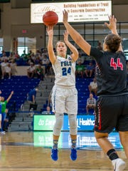 Because of two surgeries on her right knee, FGCU sixth-year