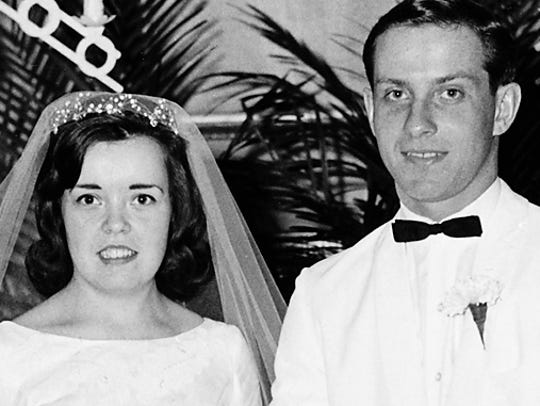 April 4, 1965, Kelley Wedding.