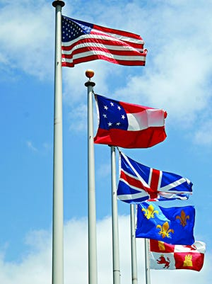 Pensacola is the City of Five Flags.