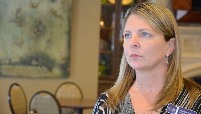 Jennifer Fopma, executive director of SAFE Place, a multi-county domestic violence service organization.