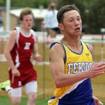 Brock Butcher of Lewistown is a talented sprinter.