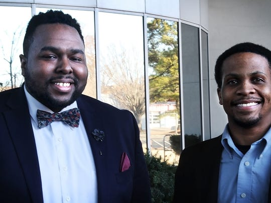 Green (left) and Shaw used GoFundMe to raise nearly $2,400 for Memphis youth to see Black Panther in order to shine a light on the community.