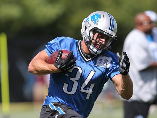 Nike NFL Mens Jerseys - Detroit Lions' Zach Zenner could be exciting to watch in preseason