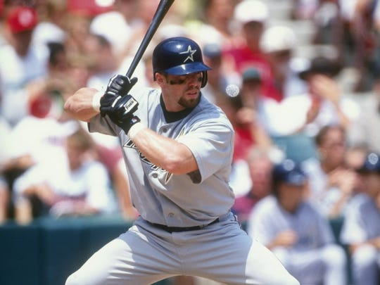Jeff Bagwell was a four-time All-Star and hit 449 home runs in 15 seasons with the Astros. He was also the 1994 National League Most Valuable Player.