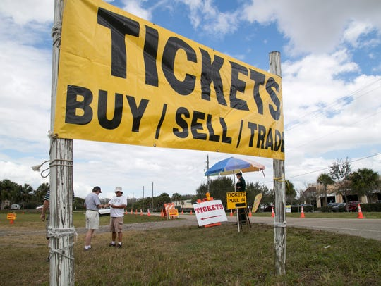 Dean Prutos sells Red Sox Spring Training tickets to