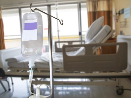 Iv Bag Hospital Bed