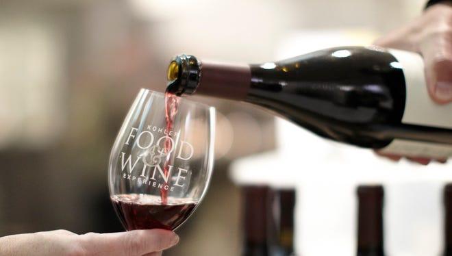 The Kohler Food & Wine Experience runs Thursday through Sunday.