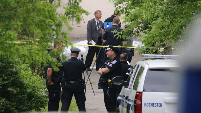 Police on scene of suspicious death investigation at Genesee Valley Park Saturday