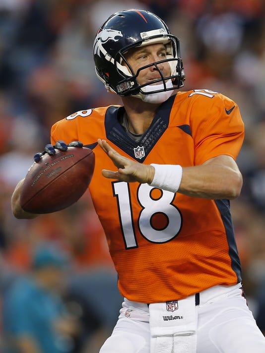 buy online 40cbb 93f09 Peyton Manning tells Broncos he's ready to return