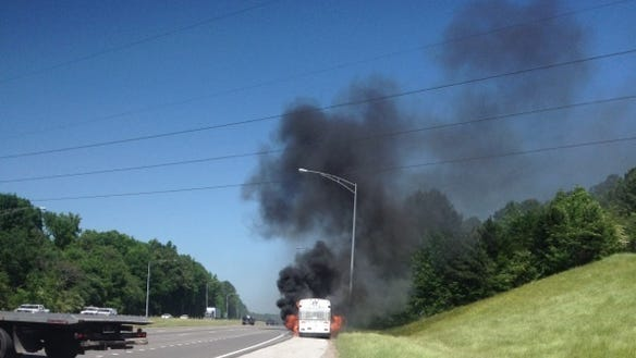 Jackson State baseball bus fire (1)