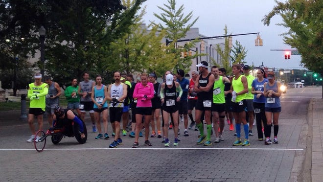 Forty-five runners competed in the inaugural Tennessee Rhythm Run Sunday morning to raise money for heart research and innovation in Jackson.