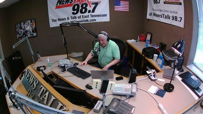 Radio host George Korda.