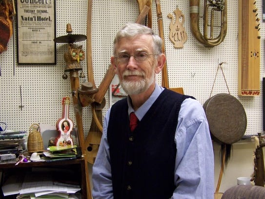 Musician Jim Kimball will open the Old Time Fiddlers