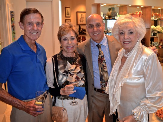 Stephen Lind, Peggy Jacobs, Ron Celona and Jean Carrus