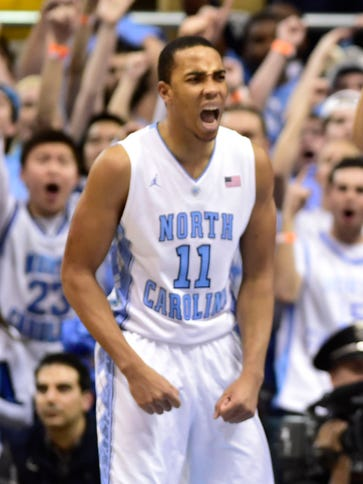 Brice Johnson scored 17 points on 6-of-6 shooting for