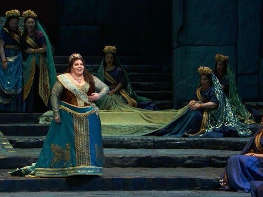 Semiramide Met Opera art