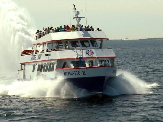 Macknic Island Ferry Service