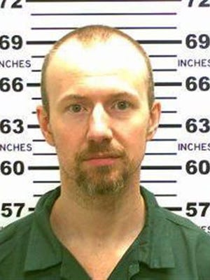 FILE - This May 21, 2015, file photo released by the New York State Police shows David Sweat.
