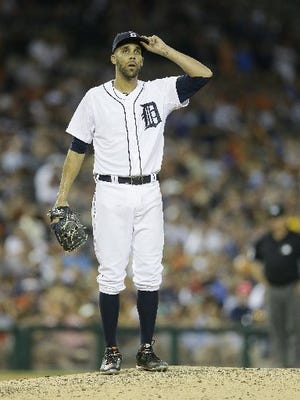 A USA Today reports says Detroit Tigers ace David Price is on the trading block.
