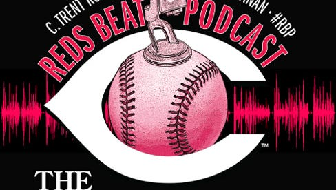 Reds Beat Podcast logo.