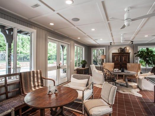 Williams creek home hosted tennis greats arthur ashe for Garden room 4 seasons