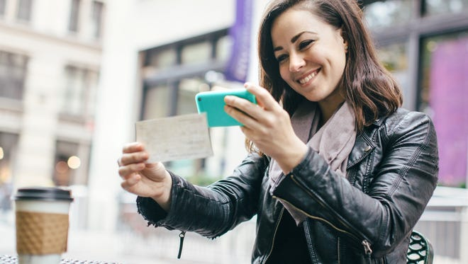 Banks today make depositing a check as easy as snapping a picture with your phone, meaning you don't have to wait in a line to do this simple task.