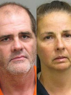 Christopher Mark Grady, 49, and his wife, Margaret Grady, 48, are being held in the Montgomery County Detention Facility under a combined bond of $255,000.