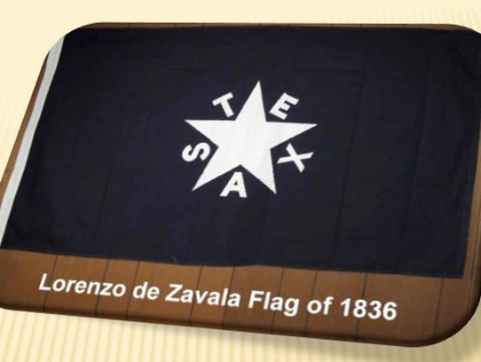 "The Zavala Flag is traditionally referred to as ""The"