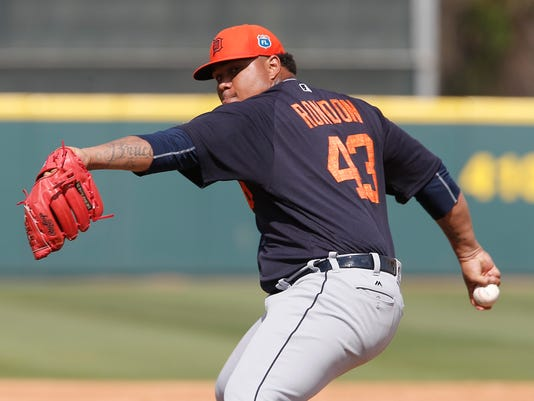 MLB: Spring Training-Detroit Tigers at Houston Astros