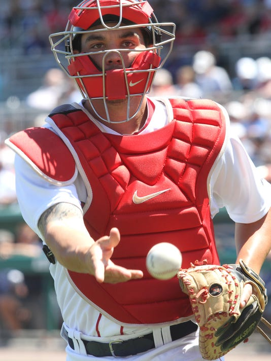 Red Sox catcher