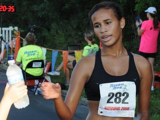 3 Running on Island Time 5k 1st female 8_22_15 First female ,KAREN DUNBAR_FL