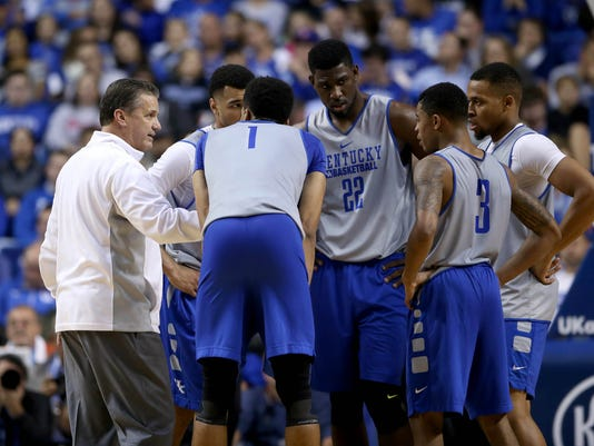 NCAA Basketball: Kentucky Blue White Scrimmage
