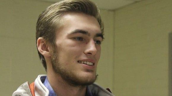 West Henderson's Cody Green.