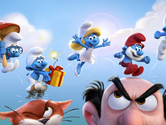 The Smurfs outsmart the evil Gargamel while searching