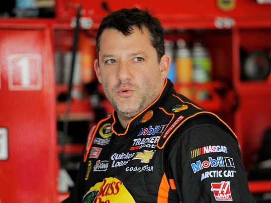 USA-NEW YORK_TONYSTEWART